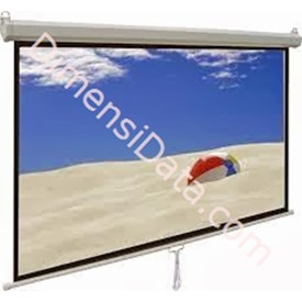 Jual Screen Projector Manual D-Light 70  Inch [MWSDL1717L]